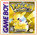 Pokémon Yellow Version: Special Pikachu Edition Nintendo 3DS Front Cover