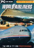 World Airliners: 747-400 and 777-200 Professional Windows Front Cover