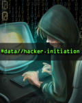 Data Hacker: Initiation Linux Front Cover