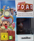 Captain Toad: Treasure Tracker (Toad Amiibo Bundle) Wii U Front Cover