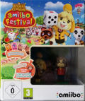 Animal Crossing: Amiibo Festival (Amiibo Bundle) Wii U Front Cover