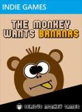 The Monkey Wants Bananas Xbox 360 Front Cover