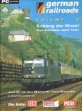 German Railroads: Volume 4 - Entlang der Mosel: Von Koblenz nach Trier Windows Front Cover