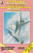 Fighter Pilot Atari 8-bit Front Cover