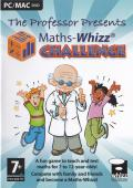 The Professor Presents Maths-Whizz Challenge Macintosh Front Cover