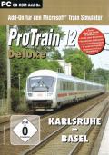 ProTrain 12 Deluxe: Karlsruhe - Basel Windows Front Cover