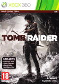 Tomb Raider (Nordic Edition) Xbox 360 Front Cover