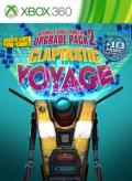 Borderlands: The Pre-Sequel! - Claptastic Voyage and Ultimate Vault Hunter Upgrade Pack 2 Xbox 360 Front Cover