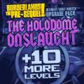 Borderlands: The Pre-Sequel! - Ultimate Vault Hunter Upgrade Pack: The Holodome Onslaught PlayStation 3 Front Cover