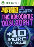 Borderlands: The Pre-Sequel! - Ultimate Vault Hunter Upgrade Pack: The Holodome Onslaught Xbox 360 Front Cover