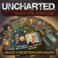 Uncharted: Fight for Fortune - Drake's Deception Expansion PS Vita Front Cover