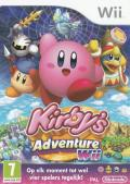 Kirby's Return to Dream Land Wii Front Cover