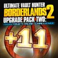 Borderlands 2: Ultimate Vault Hunter Upgrade Pack Two - Digistruct Peak Challenge PlayStation 3 Front Cover