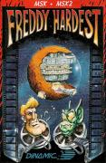Freddy Hardest MSX Front Cover