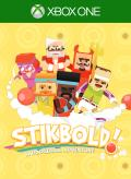 Stikbold!: A Dodgeball Adventure Xbox One Front Cover 1st version