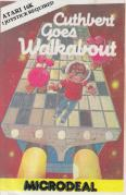 Cuthbert Goes Walkabout Atari 8-bit Front Cover
