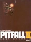 Pitfall II: Lost Caverns Atari 5200 Front Cover