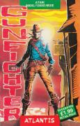 Gunfighter Atari 8-bit Front Cover