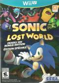 Sonic: Lost World (Deadly Six Edition) Wii U Front Cover