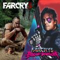 Far Cry 3 + Far Cry 3: Blood Dragon PlayStation 3 Front Cover