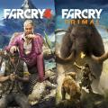 Far Cry 4 + Far Cry: Primal Bundle PlayStation 4 Front Cover