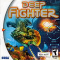 Deep Fighter Dreamcast Front Cover Also a manual