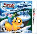 Adventure Time: The Secret of the Nameless Kingdom Nintendo 3DS Front Cover