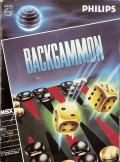 Backgammon MSX Front Cover