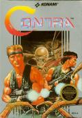 Contra NES Front Cover