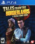Tales from the Borderlands PlayStation 4 Front Cover