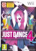 Just Dance 4 Wii Front Cover