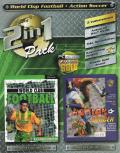 2 in 1 Pack: Sean Dundee's World Club Football / Action Soccer Windows Front Cover