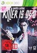 Killer Is Dead: Limited Edition Xbox 360 Front Cover