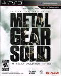 Metal Gear Solid: The Legacy Collection 1987-2012 PlayStation 3 Front Cover Box Sleeve