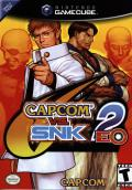 Capcom vs. SNK 2: Mark of the Millennium GameCube Front Cover