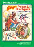 Las Vegas Poker & Blackjack Intellivision Front Cover