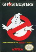 Ghostbusters NES Front Cover