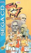 Fatal Fury Special SEGA CD Front Cover