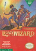Legacy of the Wizard NES Front Cover