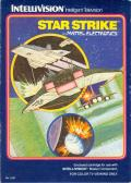 Star Strike Intellivision Front Cover