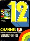 Videocart-12: Baseball Channel F Front Cover