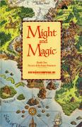 Might and Magic: Book One - Secret of the Inner Sanctum DOS Manual Front