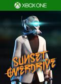 Sunset Overdrive: Fizzco Bot Outfit Xbox One Front Cover 1st version