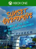 Sunset Overdrive: Dawn of the Rise of the Fallen Machines Xbox One Front Cover 1st version