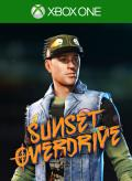 Sunset Overdrive: UnCivil War Helmet Xbox One Front Cover 1st version