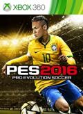 PES 2016: Pro Evolution Soccer Xbox 360 Front Cover