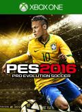 PES 2016: Pro Evolution Soccer Xbox One Front Cover 1st version