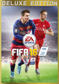 FIFA 16 (Deluxe Edition) Windows Front Cover