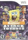 Nicktoons: Attack of the Toybots Wii Front Cover