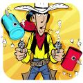 Lucky Luke: Shoot & Hit iPad Front Cover